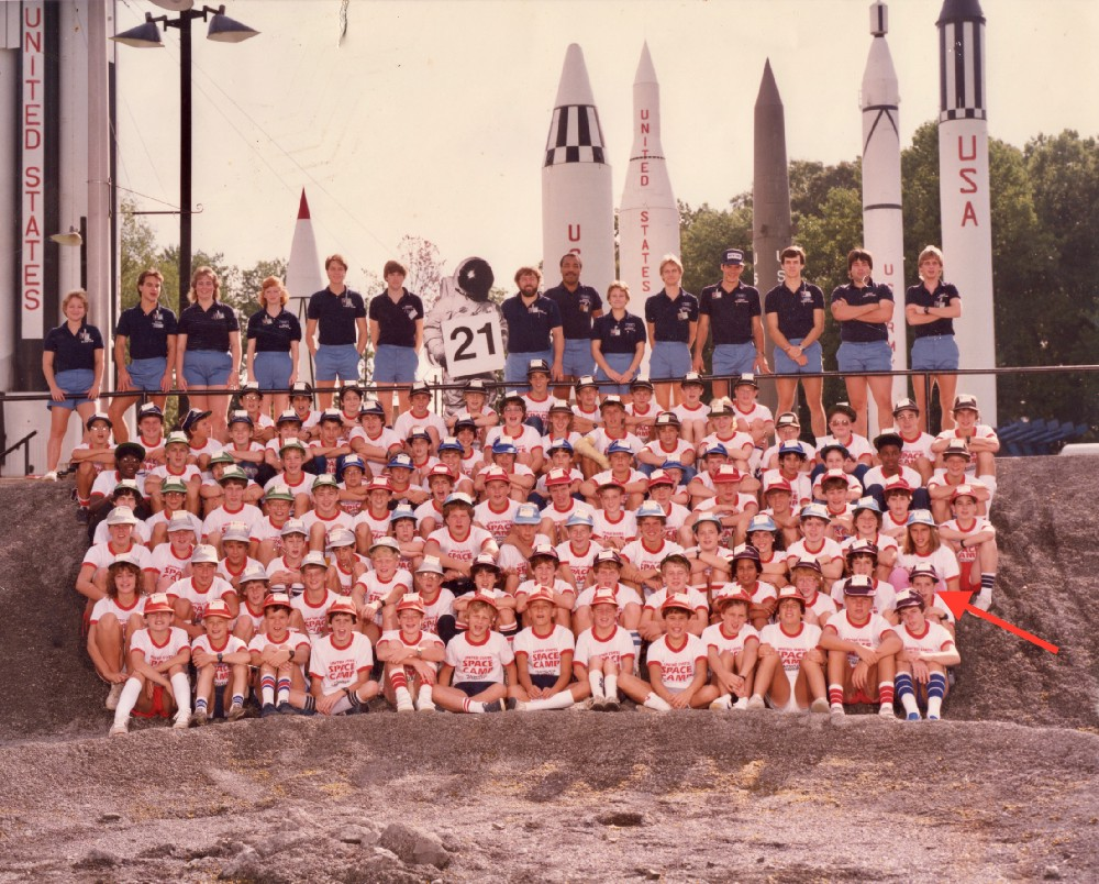 Space Camp. Summer, 1983.