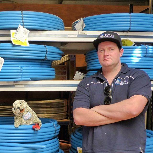 Mr. Seal and Steve are ready to work ! If you need an expert plumber or gas fitter, call the best team.  #plumber #plumbers #gasfitter #gasfitters #plumbing #gasfitting #reece #auckland #aucklandcity #northshore #rodney