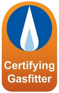 Seal Certifying Gasfitter certified