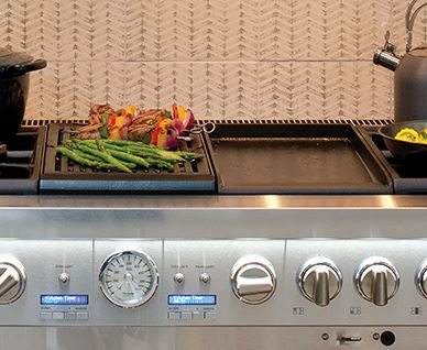 Indoor Grill + Griddle Combo