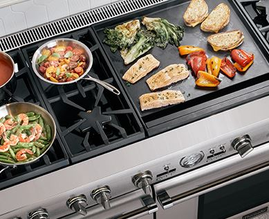 Duel-Zone Double Griddle