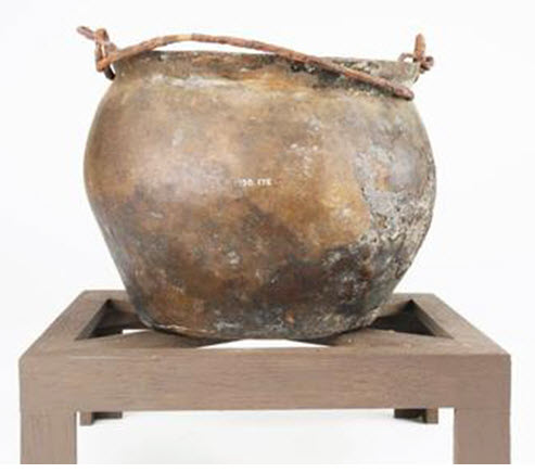 Roman Cooking Pot via  BBC
