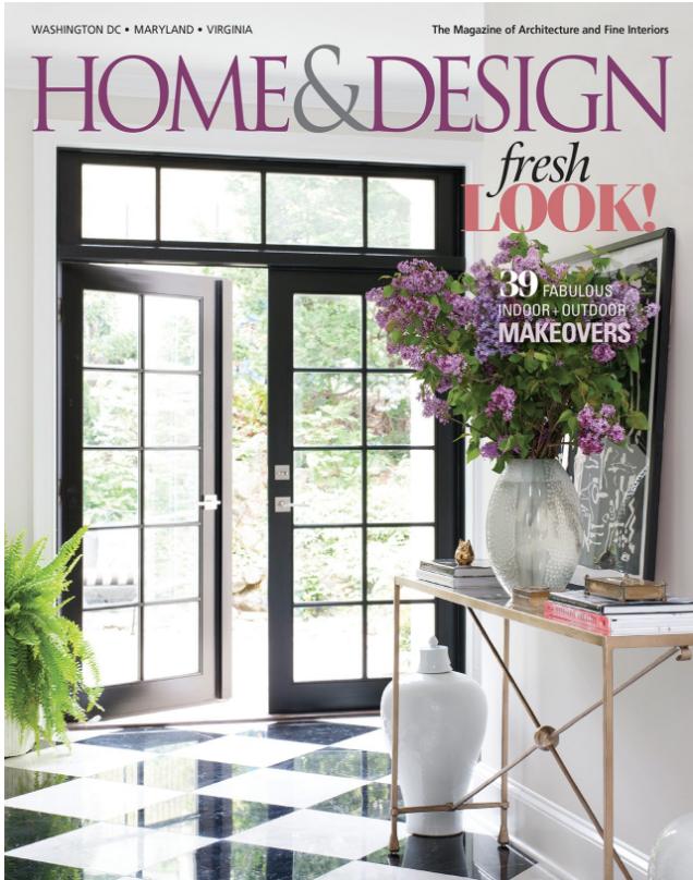 Home and Design Magazine Liza jane