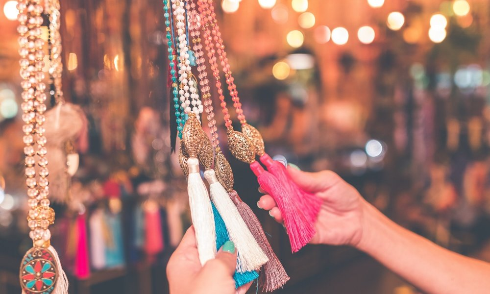 RETAIL - Enjoy handmade products and chat with local craft artists at our weekend market.