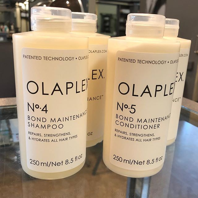 Loving the New Olaplex Shampoo & Conditioner.  The shine 😍 & it doesn't weigh down fine hair 🤗