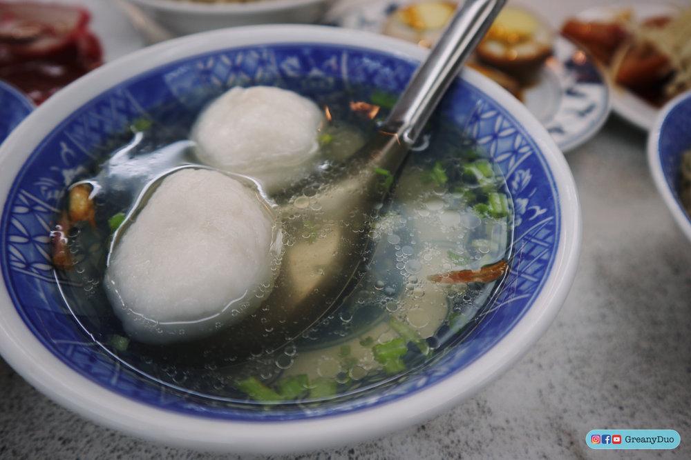 7. ซุปลูกชิ้นปลา - (魚丸湯)