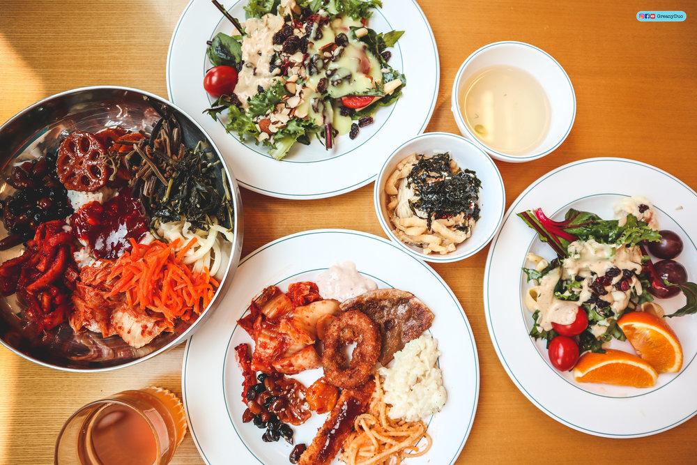 klook western jeju island tour, korean buffet