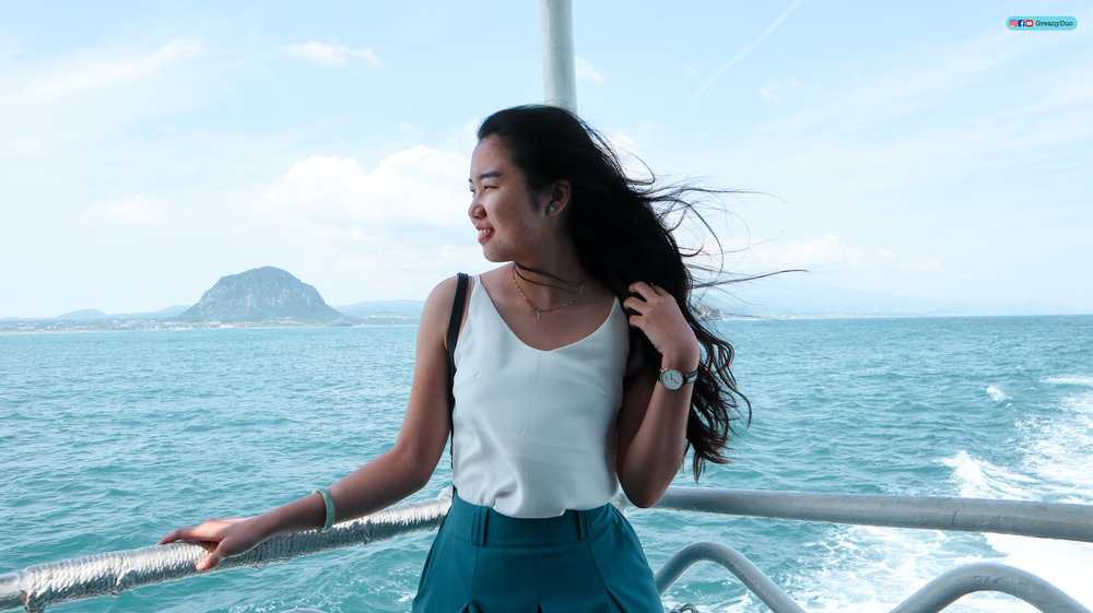 klook western jeju island tour, sanbang cruise