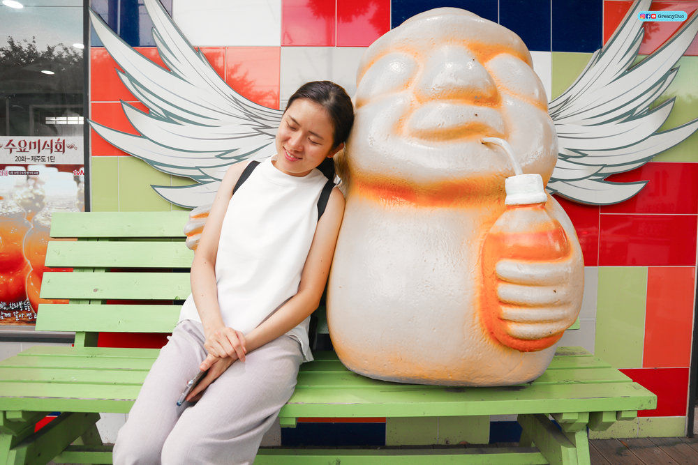 jeju island orange mascot