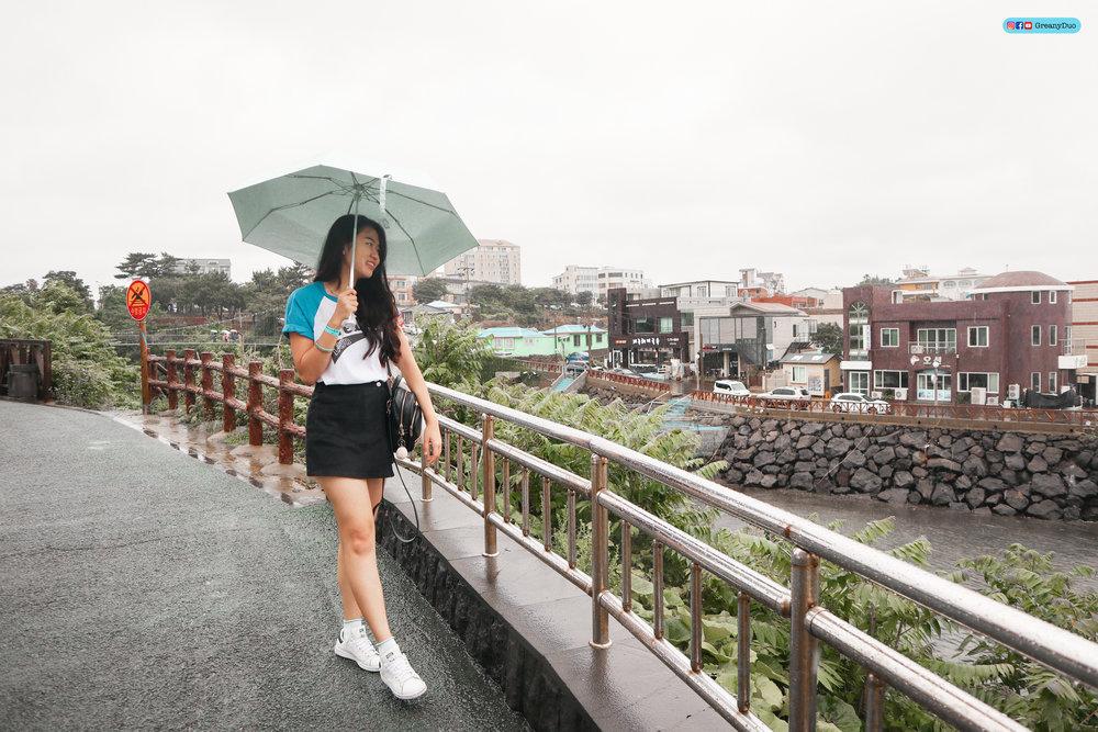 klook jeju city bus, yongyeon bridge
