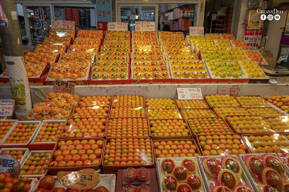 orange, dongmun market, jeju