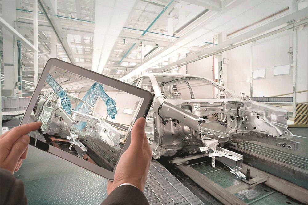Sistema MES que gestiona i controla l'execució de la producció en temps real.
