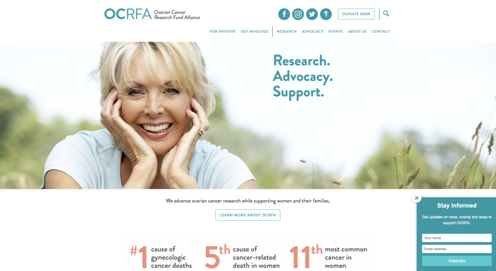 Ovarian Cancer Research Fund Alliance
