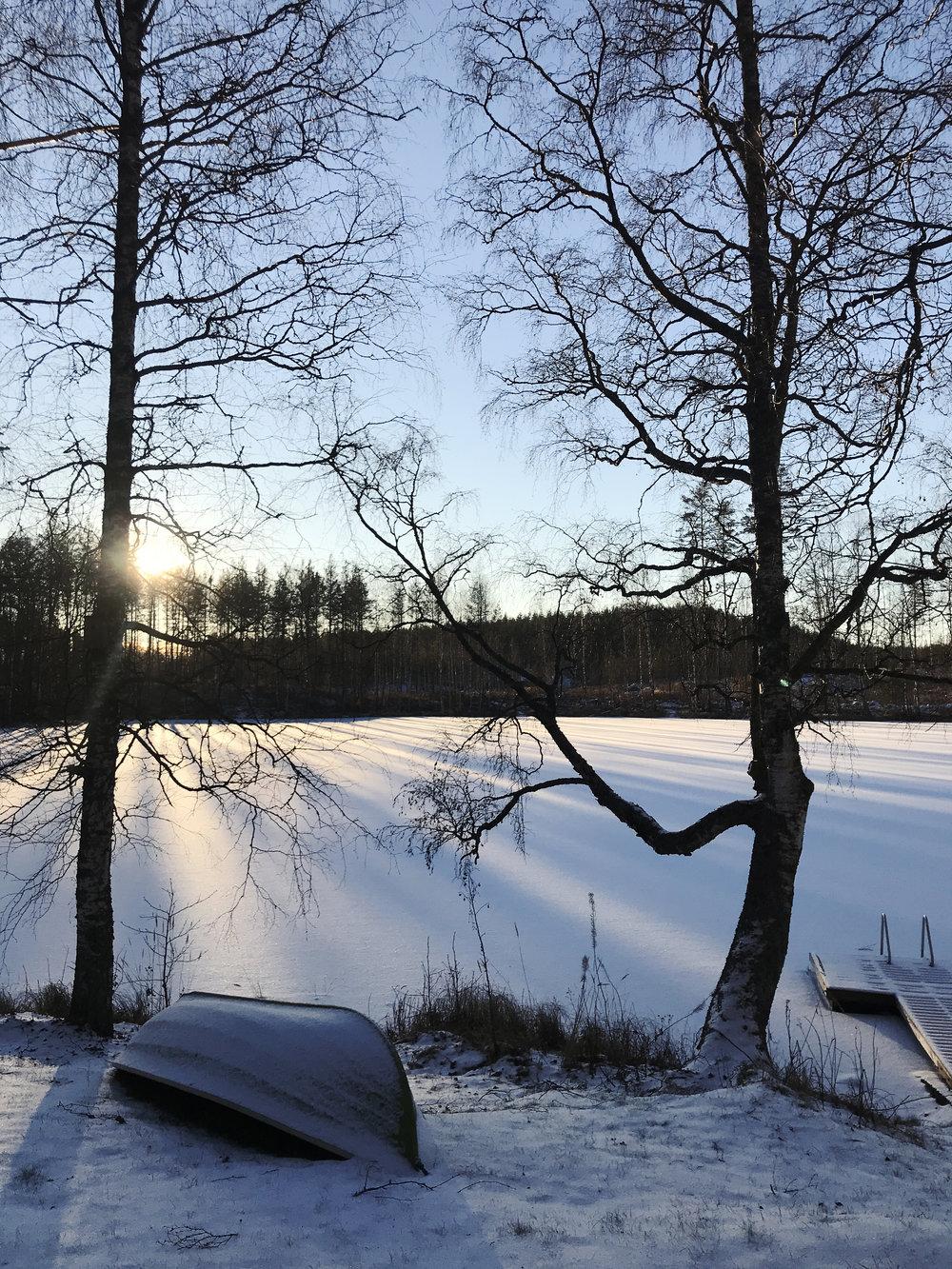 Rauhaa Etelä-Savossa, joulukuussa 2018.