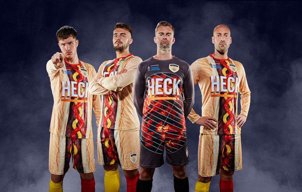 2018/19 Bedale AFC Kit - Heck Sausages