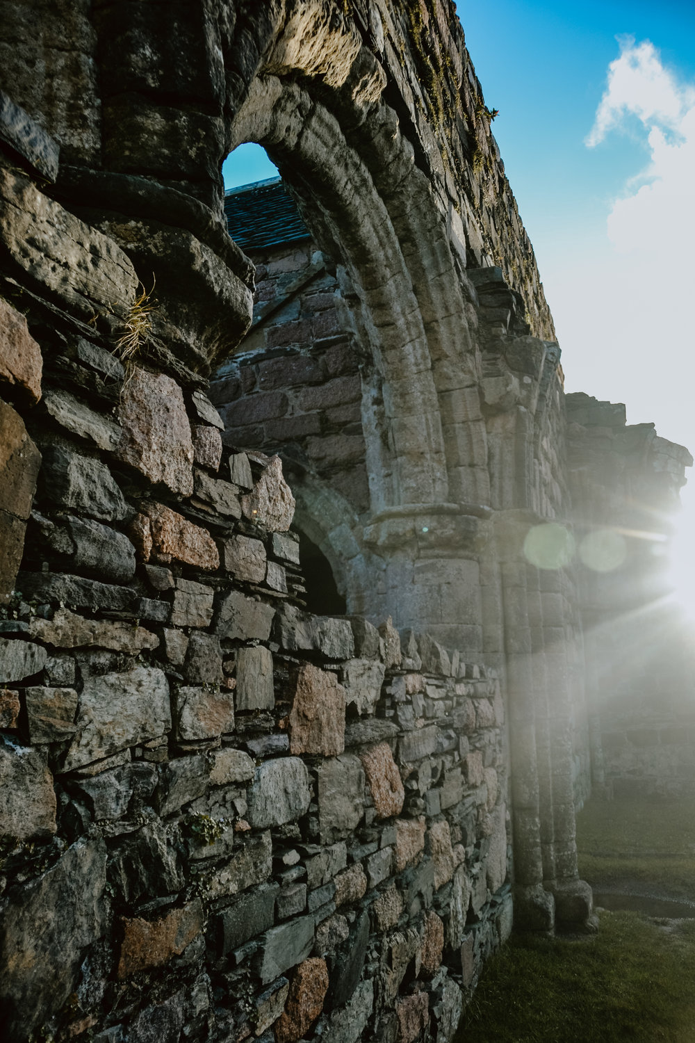 Arches of Iona's nunnery