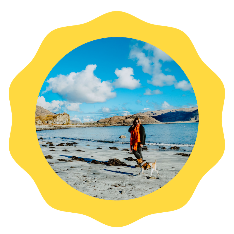 """The research - is a comparative study on the role masculinity plays men's mental health in the UK and Europe's """"Happylands"""" such as, Denmark. While travelling in my campervan with Dougie the dog, I will be collecting stories and experiences in each country."""