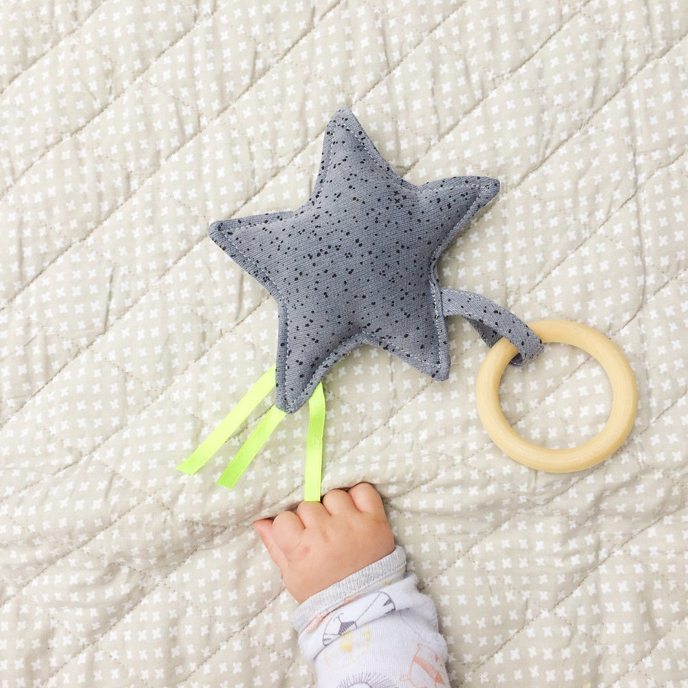 Upcycled Star Rattle