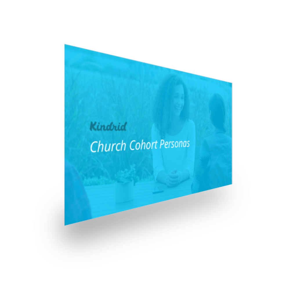 Church cohort persona report