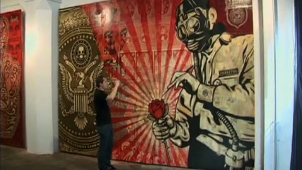 shepard fairey - Art or Not? - Ovation TV