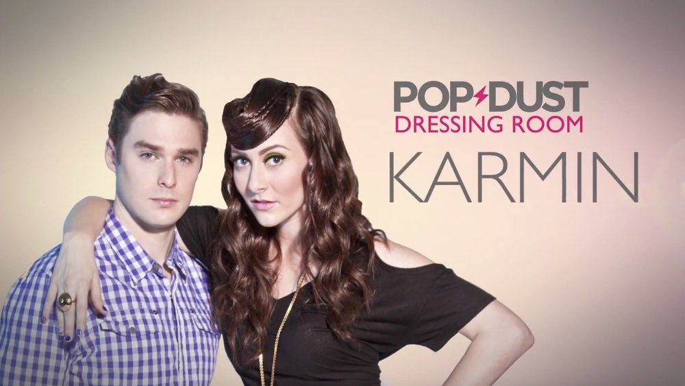 POPDUST DRESSING ROOM : KARMIN - YOUTUBE/BEDROCKET