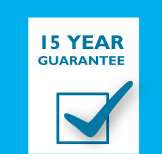 15 Year Guarantee on All of our uPVC products.