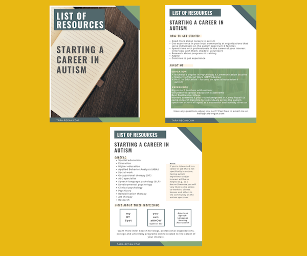Resource guide template