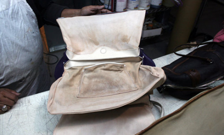 Our expert bag restorer, Hassan, understands how to work with every type of fabric and finish.