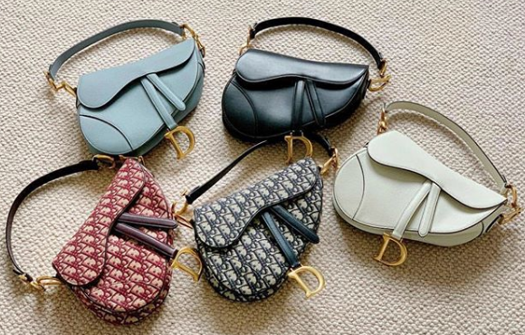 Saddle Bags from Dior's 2019 Cruise collection