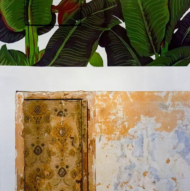 Wallpapers in Flaminio apartment, Rome . . . . . . #wallpaper #wallpapers #wallpaperdecor #cartadaparati #architecture #interiordesign #interiors #architettura #architetturadinterni #architetturadinterniroma #rome #flaminio #followus