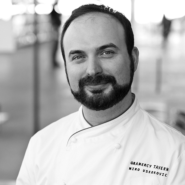 Gramercy Tavern - Miro Uskokovic has been the Pastry Chef of Gramercy Tavern since 2013. Born and raised in Serbia, Miro grew up on a family farm where his mother had small cheese and cake-making operations. After graduating from CIA, Miro worked as a pastry chef at both Jean Georges and Aldea.
