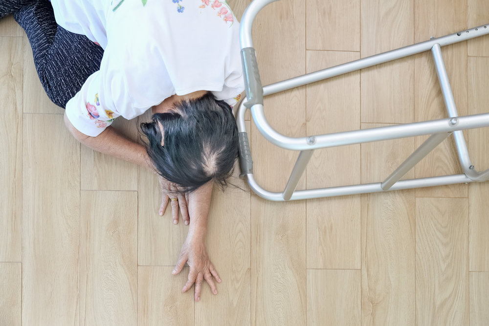 Pendants only work sometimes. - Older adults often fall when they are not wearing their pendant. How long would they be on the floor if they could not call for help?
