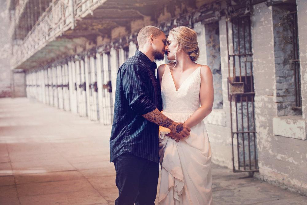 P ERCEPTION ART STUDIO | SHAWSHANK PRISON | OHIO STATE REFORMATORY | BRIDAL GOWN | CINCINNATI WEDDING