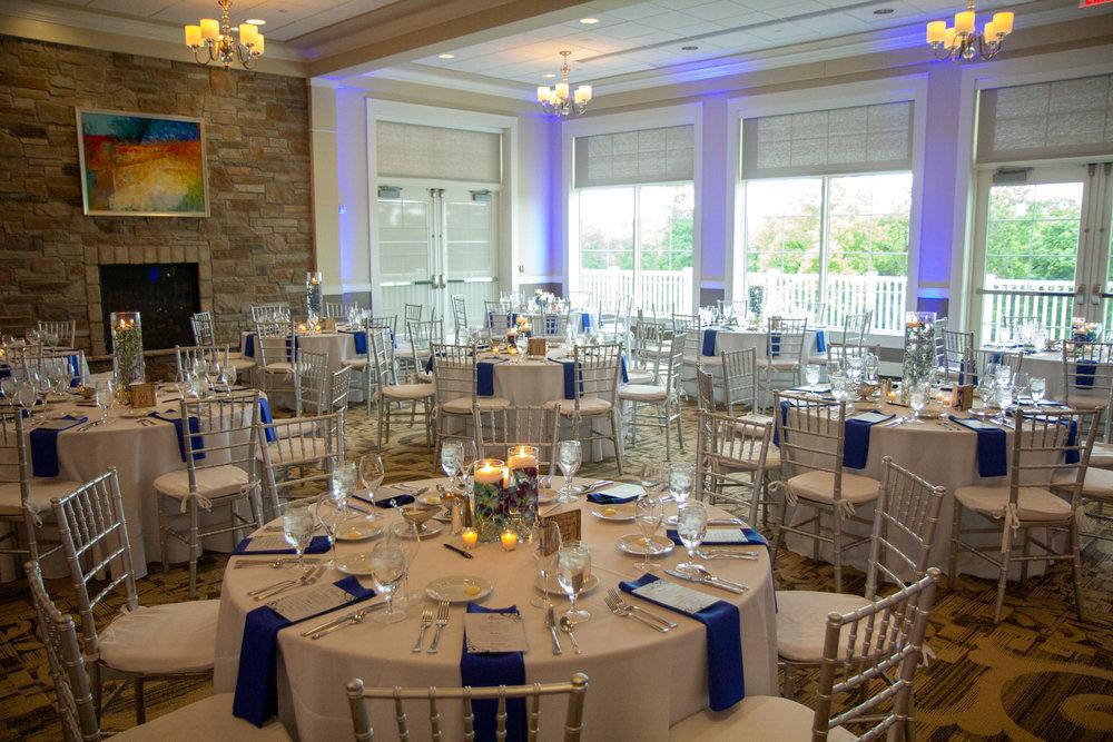 Cooper Creek event center cincinnati, cooper creek wedding, blue and white wedding, cincinnati bride