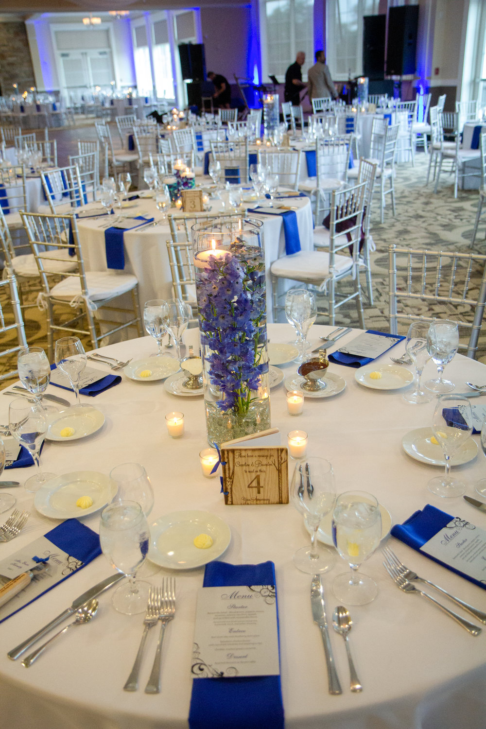 blue and white wedding, cooper creek blue ash,