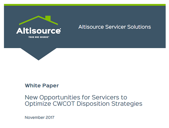 The Deal-Winning White Paper - This white paper from Altisource, written for a mortgage servicing audience, produced more qualified leads than any previous content initiative. It was the first touch point in the sales journey for a deal that closed in half the time of similar contracts.