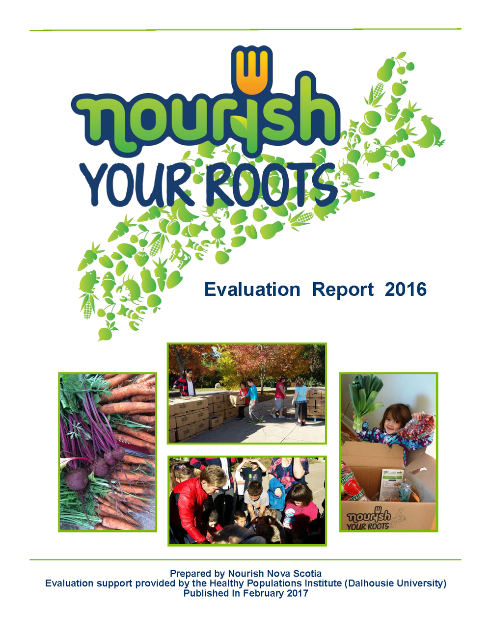 2016 Nourish Your Roots Evaluation