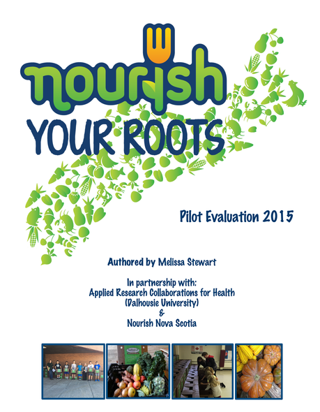 2015 Nourish Your Roots Evaluation