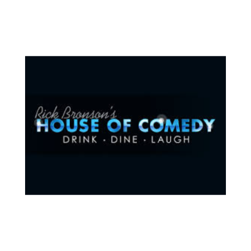 Rick Bronson's House of Comedy logo (sponsor).png