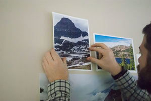 Design made simple with Pinless Printables ™ dry adhesive backed  paper for laser printers.