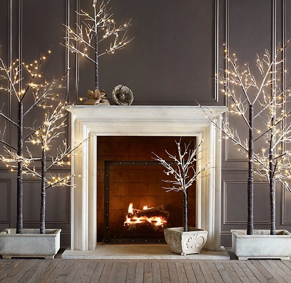 White Holiday Decor Inspiration by Moco Choco