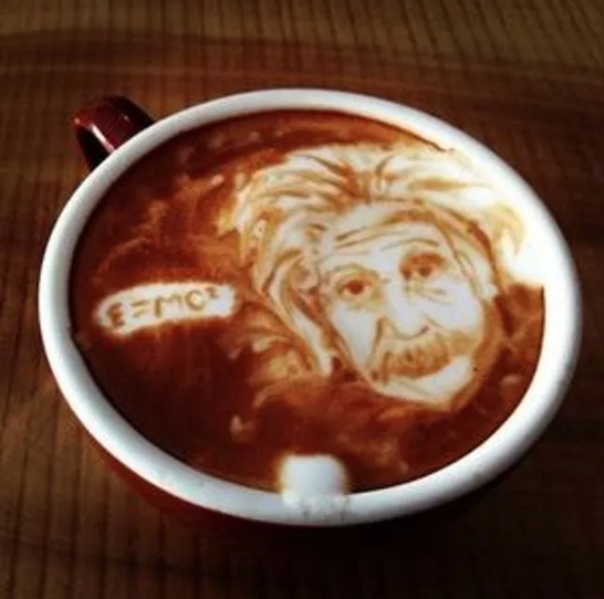 Einstein: Photo from Wikimedia