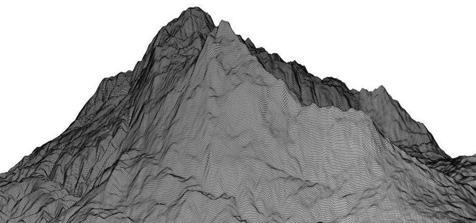 3D Scanned Topography