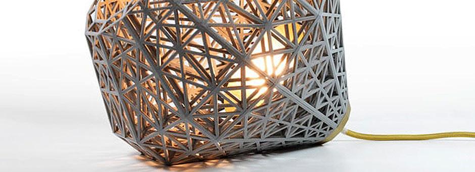 Parisian 3D Printable Lamp