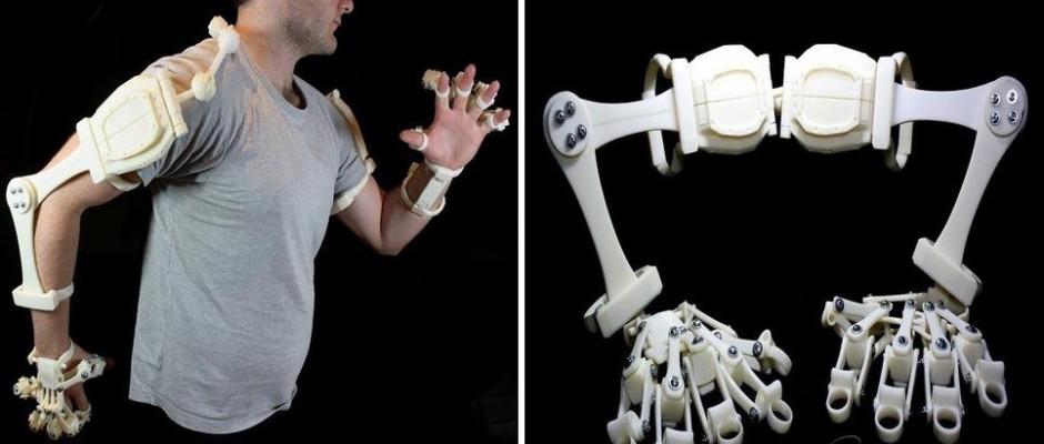 3D Printing Exoskeleton
