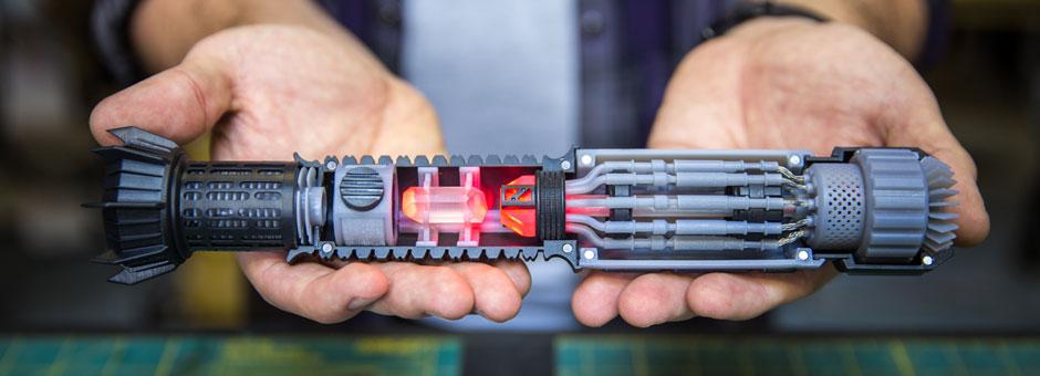 3D Printing Lightsaber