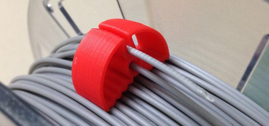 3D Printing Filament Clip