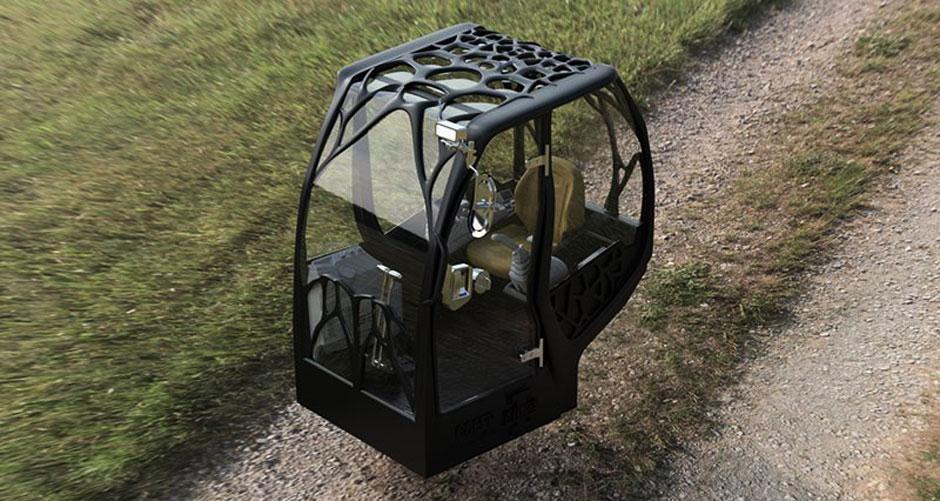 3D Printing Excavator Cab