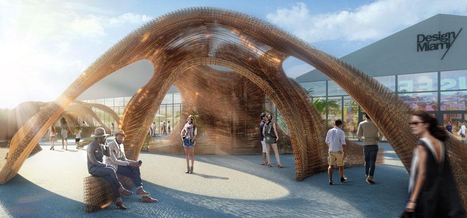 Giant 3D Printed Pavilion