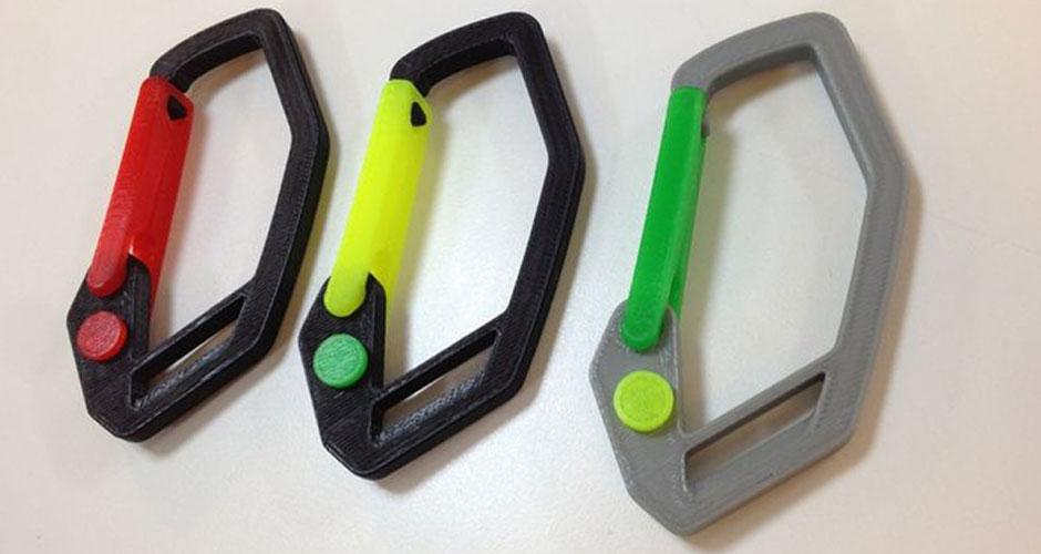 3D Printed Carabiners